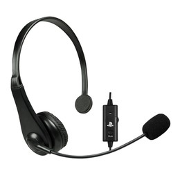Video Game Accessory PS3 CHAT HEADSET