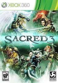 XBOX 360 Game SACRED 3