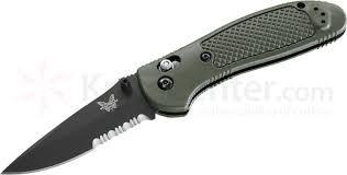 BENCHMADE Pocket Knife 551SBKOD GRIPTILIAN