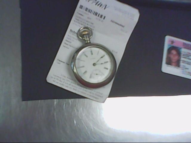 WALTHAM Pocket Watch OPEN FACE POCKET