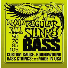 ERNIE BALL 2832 4-STRING BASS GUITAR STRINGS ROUNDWOUND CUSTOM GAUGE