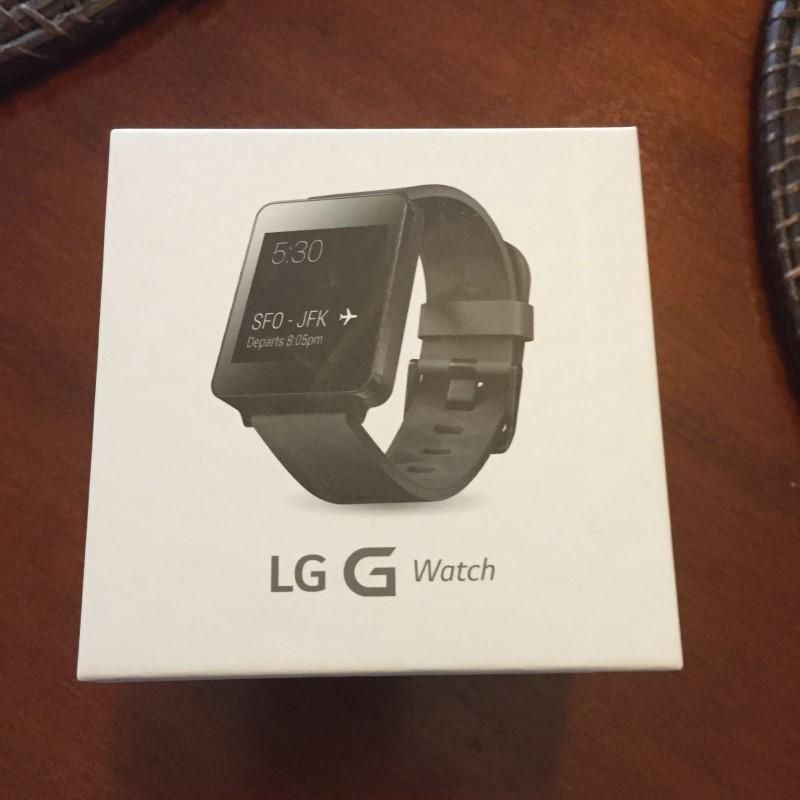 LG Gent's Wristwatch G WATCH LG-W100