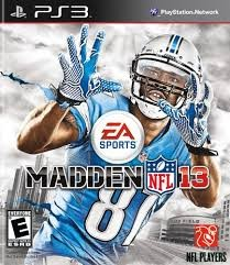 SONY Sony PlayStation 3 Game MADDEN NFL 13