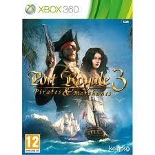 MICROSOFT Microsoft XBOX 360 Game PORT ROYALE 3 PIRATES & MERCHANTS XBOX 360