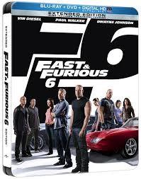 BLU-RAY MOVIE Blu-Ray FAST & FURIOUS 6