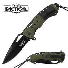 RAZOR TACTICAL Pocket Knife RT7022GN