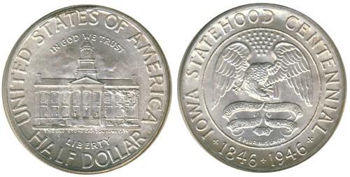 UNITED STATES Silver Coin 1946 HALF DOLLAR