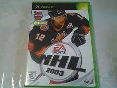 MICROSOFT Microsoft XBOX EA SPORTS NHL 2003