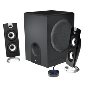 CYBER ACOUSTICS Surround Sound Speakers & System CA-3602 2.1