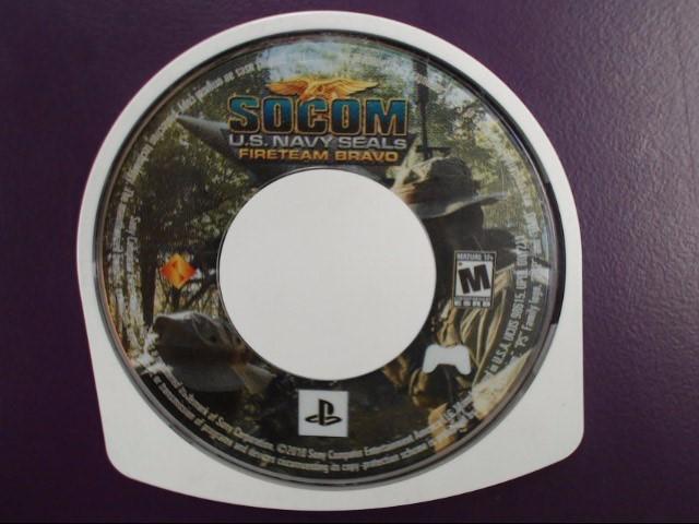 SONY Sony PSP Game SOCOM U.S. NAVY SEALS FIRETEAM BRAVO
