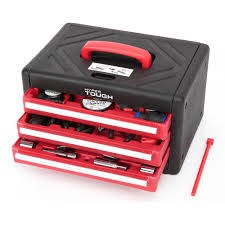 HYPER TOUGH Tool Box with Tools TOOL KIT