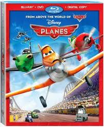 Blu-ray Movie Disney's Planes. Blu-ray + DVD + Digital Copy