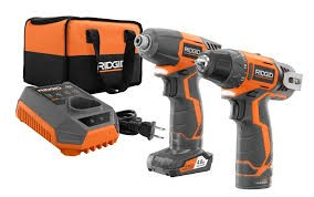 RIDGID TOOLS Cordless Drill R82230/R82005 COMBO