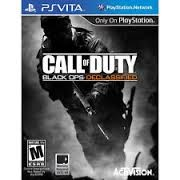SONY Sony PSP PSVITA CALL OF DUTY BLACK OPS DECLASSIFIED