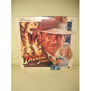 LASER DISC Laser Disk INDIANA JONES AND THE TEMPLE OF DOOM