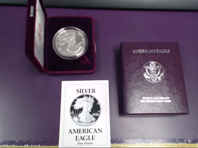 UNITED STATES Proof Set AMERICAN EAGLE 1990 PROOF