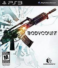 SONY Sony PlayStation 3 Game BODYCOUNT
