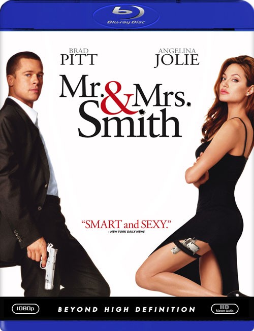 BLU-RAY MOVIE Blu-Ray MR & MRS SMITH