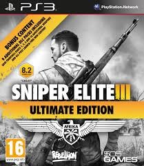 SONY PlayStation 3 Game SNIPER ELITE III ULTIMATE EDITION
