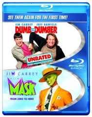 BLU-RAY MOVIE DUMB AND DUMBER - THE MASK (DOUBLE FEATURE)
