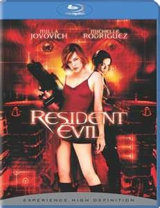 BLU-RAY MOVIE Blu-Ray RESIDENT EVIL 1