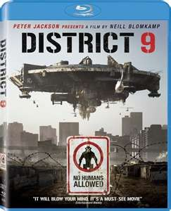 BLU-RAY MOVIE Blu-Ray DISTRICT 9