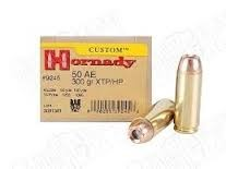 HORNADY Ammunition CUSTOM 50 AE 300GR XTP/HP