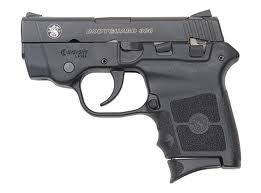 SMITH & WESSON BODYGUARD 380 W/LASER NO SAFETY