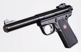 RUGER Pistol 22/45 MKIII TARGET