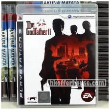 SONY Sony PlayStation 3 Game THE GOD FATHER II