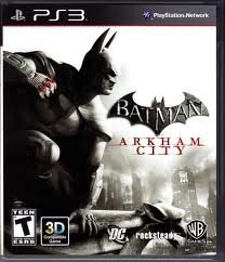 SONY Sony PlayStation 3 Game PS3 BATMAN ARKHAM CITY
