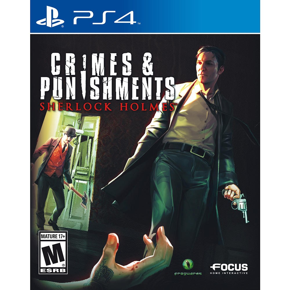 SONY Sony PlayStation 4 Game CRIMES & PUNISHMENT SHERLOCK HOLMES - PS4
