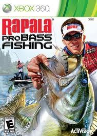 MICROSOFT Microsoft XBOX 360 Game RAPALA PRO BASS FISHING