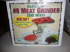 LEM Food Processor #8 ELECTRIC MEAT GRINDER