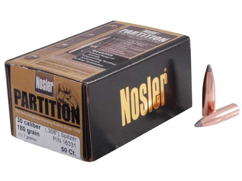 NOSLER Ammunition 30-06 180 GR AB