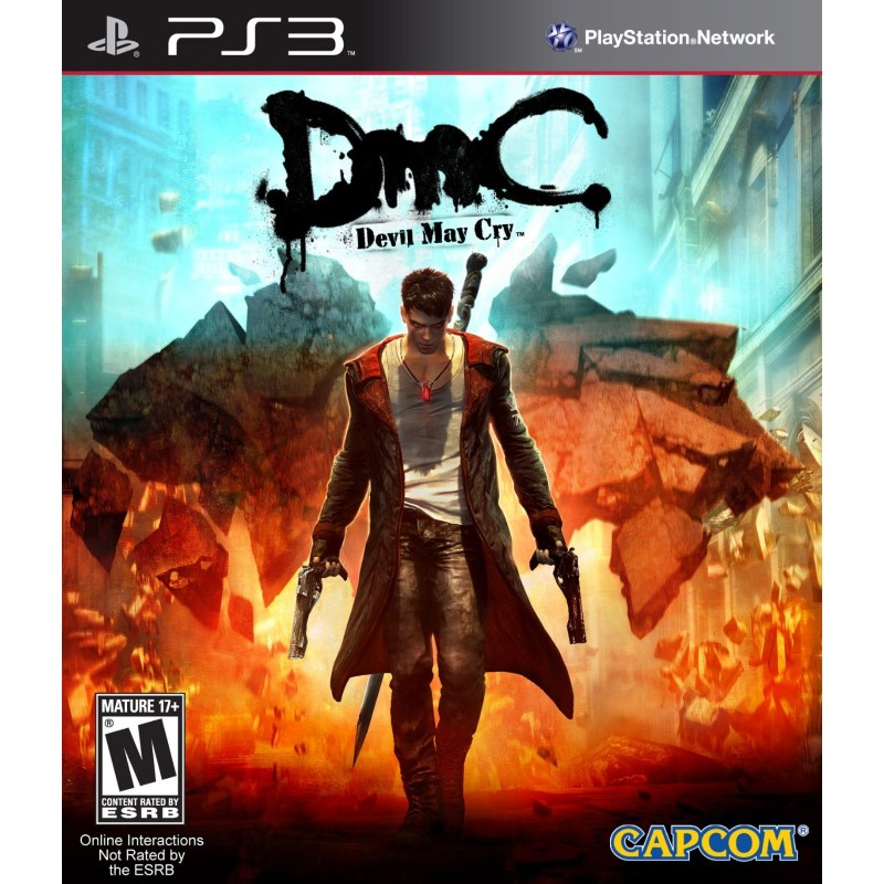 CAPCOM Sony PlayStation 3 Game DEVIL MAY CRY PS3