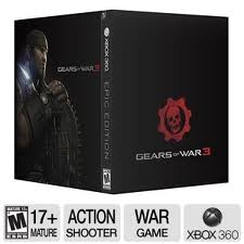 MICROSOFT Microsoft XBOX 360 Game GEARS OF WAR 3 EPIC EDITION