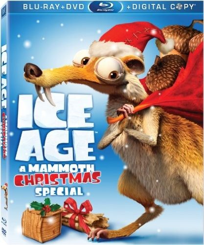 BLU-RAY MOVIE Blu-Ray ICE AGE A MAMMOTH CHRISTMAS SPECIAL
