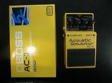 BOSS Musical Instruments Part/Accessory AC-3 ACOUSTIC SIM PEDAL