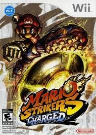 NINTENDO Nintendo Wii Game MARIO STRIKERS CHARGED