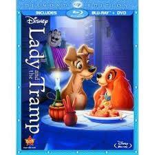 BLU-RAY MOVIE Blu-Ray LADY AND THE TRAMP DIAMOND EDITION