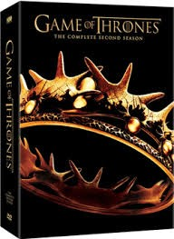 DVD BOX SET DVD GAME OF THRONES SEASON 2