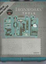 IRON WORKS Mixed Tool Box/Set 140PC HOME TOOL SET