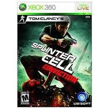 MICROSOFT XBOX 360 Game SPLINTER CELL CONVICTION