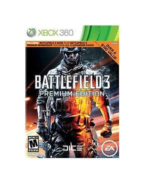 MICROSOFT Microsoft XBOX 360 Game XBOX 360 BATTLEFIELD 3 PREMIUM EDITION