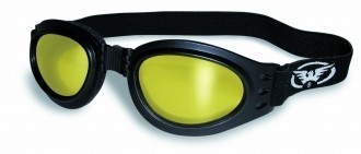 GLOBAL VISION EYEWEAR GOGGLE ADVENT YT/M YELLOW/MIRRORED LENS