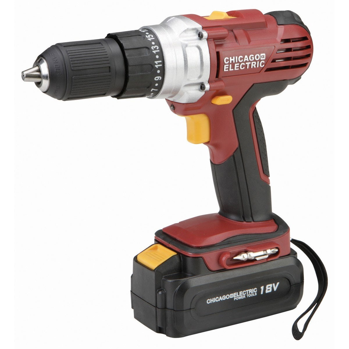 CHICAGO ELECTRIC Cordless Drill 62427