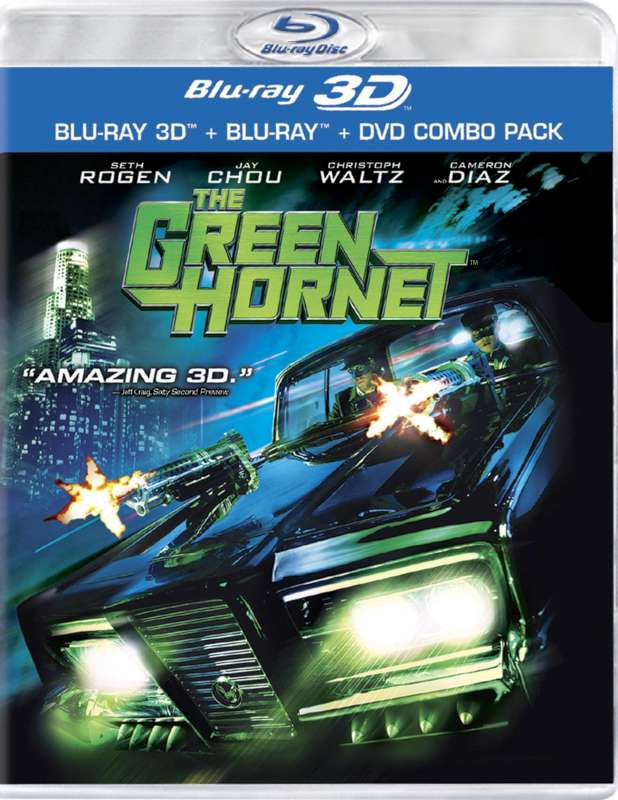 BLU-RAY MOVIE Blu-Ray GREEN HORNET 3-D