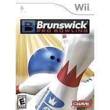 NINTENDO Nintendo Wii Game BRUNSWICK PRO BOWLING WII