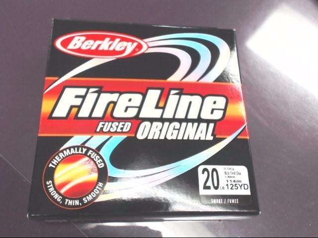 BERKLEY FIRELINE FUSED ORIGINAL 20 LB 125 YARD LINE
